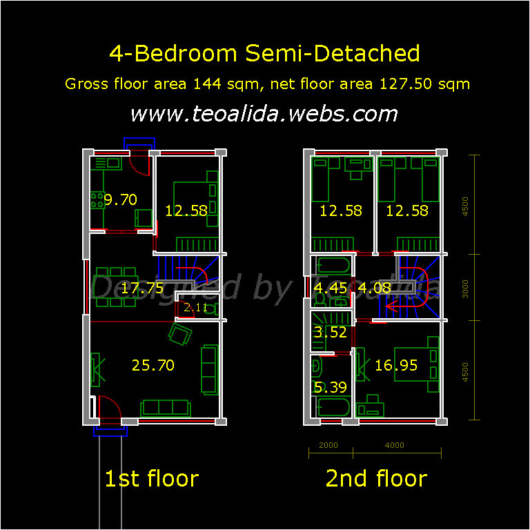 house floor plans no hallways.  House floor plans 50 400 sqm designed by Teoalida Website