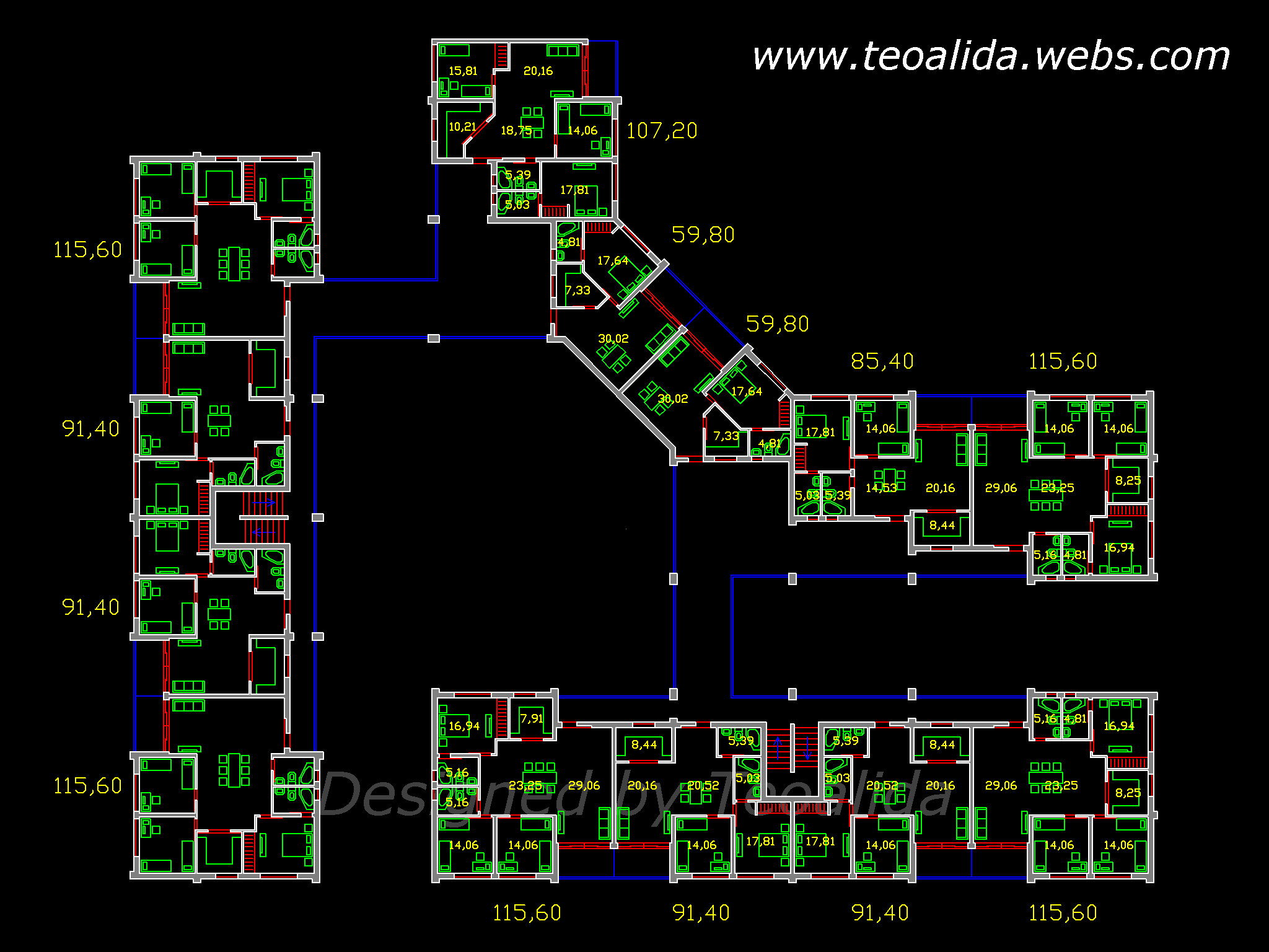 Architecture housing design 2008 2015 teoalida website Floor plan design website