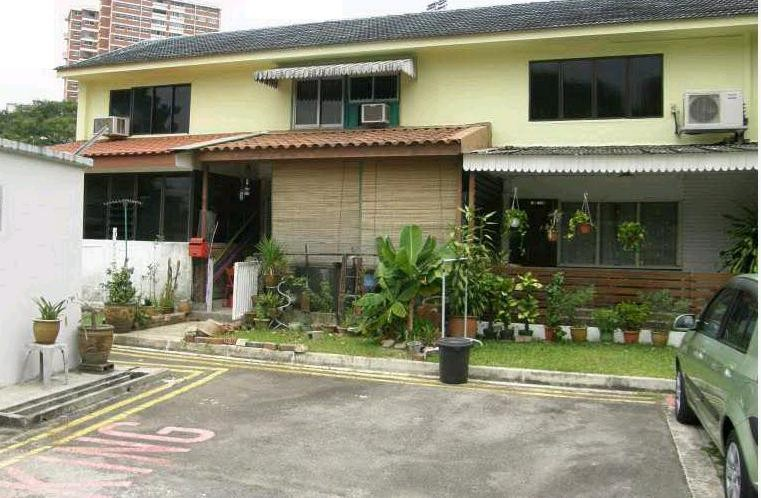 Hdb terrace flats what are they and where can i find for Terrace house singapore