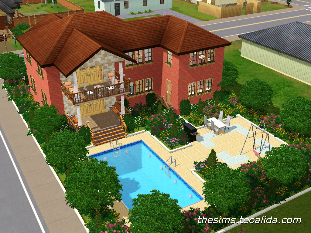 The sims house downloads home ideas and floor plans part 4 for Build a house online free
