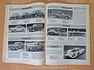 Auto Katalog 1970 text sieten