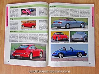Auto Katalog 1993 text sieten