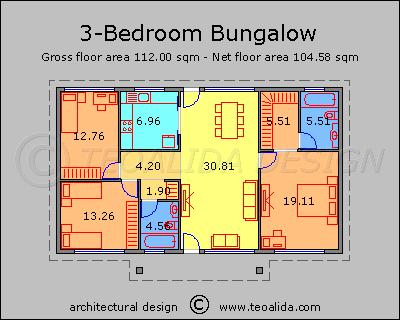 House floor plans 50 400 sqm designed by teoalida teoalida website rumah banglo 3 bilik tidur malvernweather Choice Image