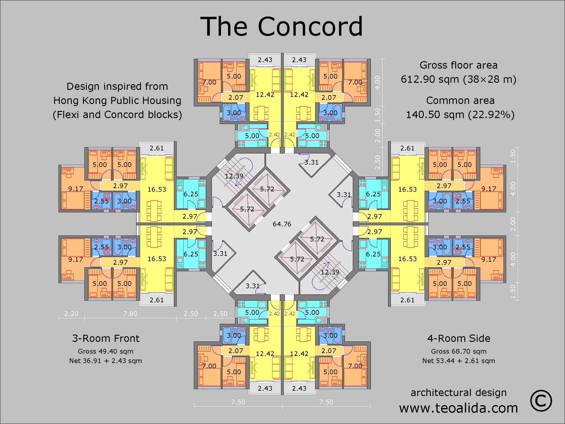 Hong Kong Concord Block