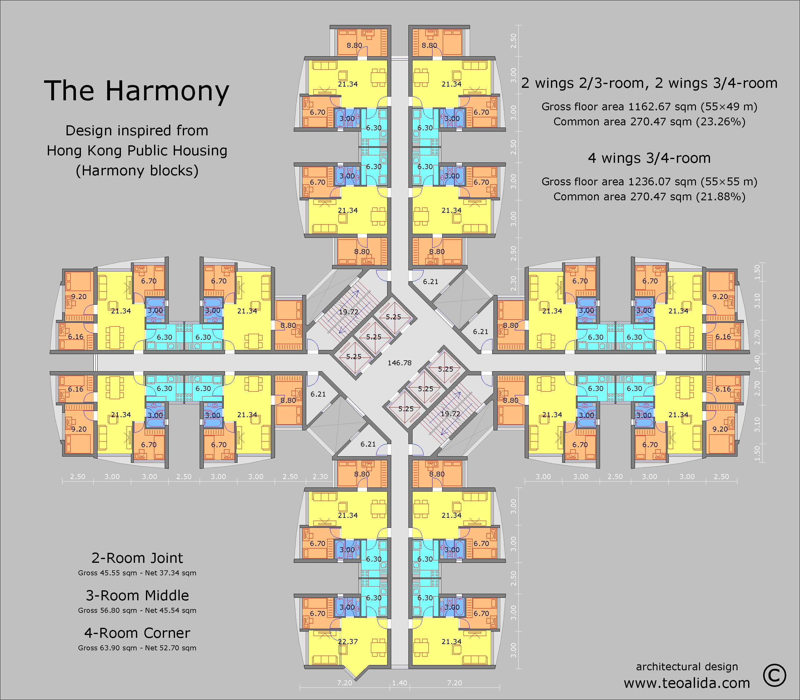 Hong Kong Harmony Block