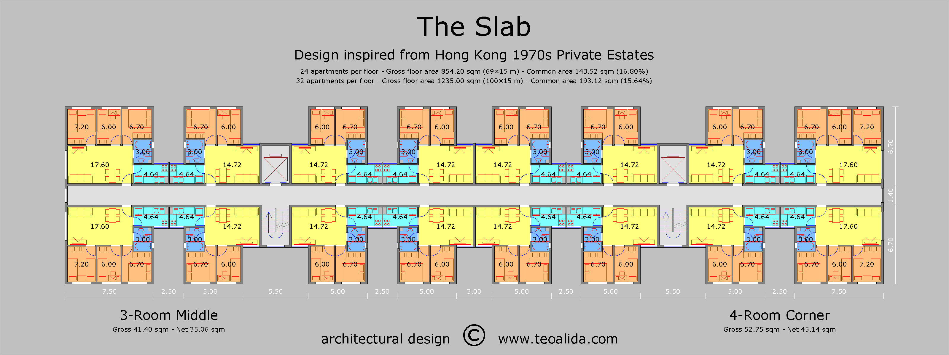 Hong Kong Slab Block