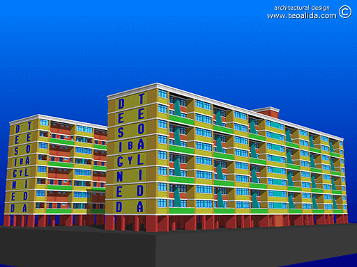 Linear Maisonette, street view