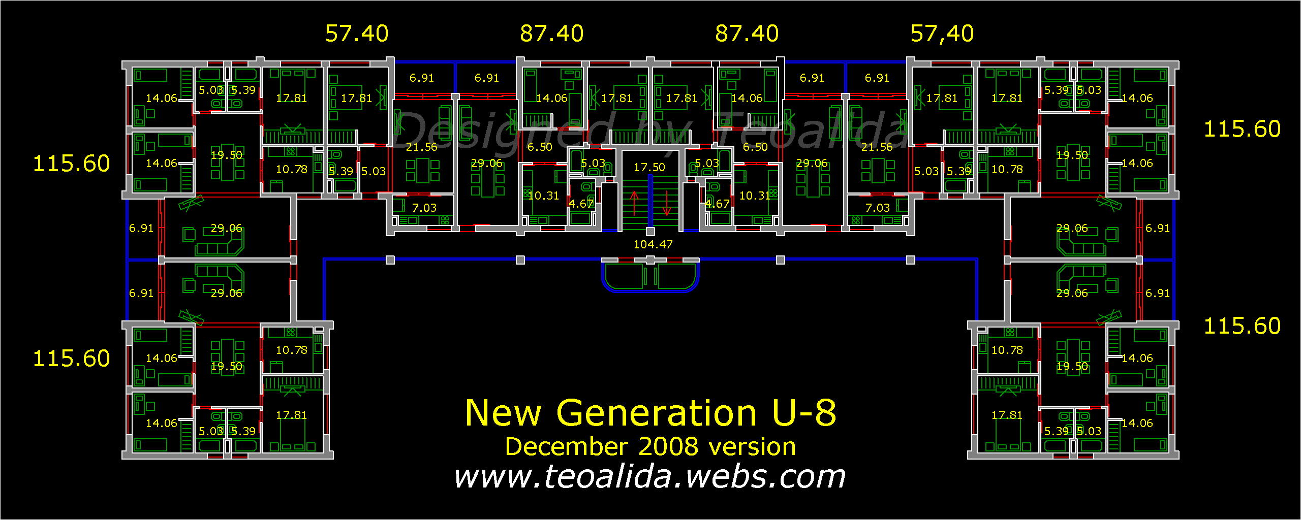 New Generation U-8 floor plan