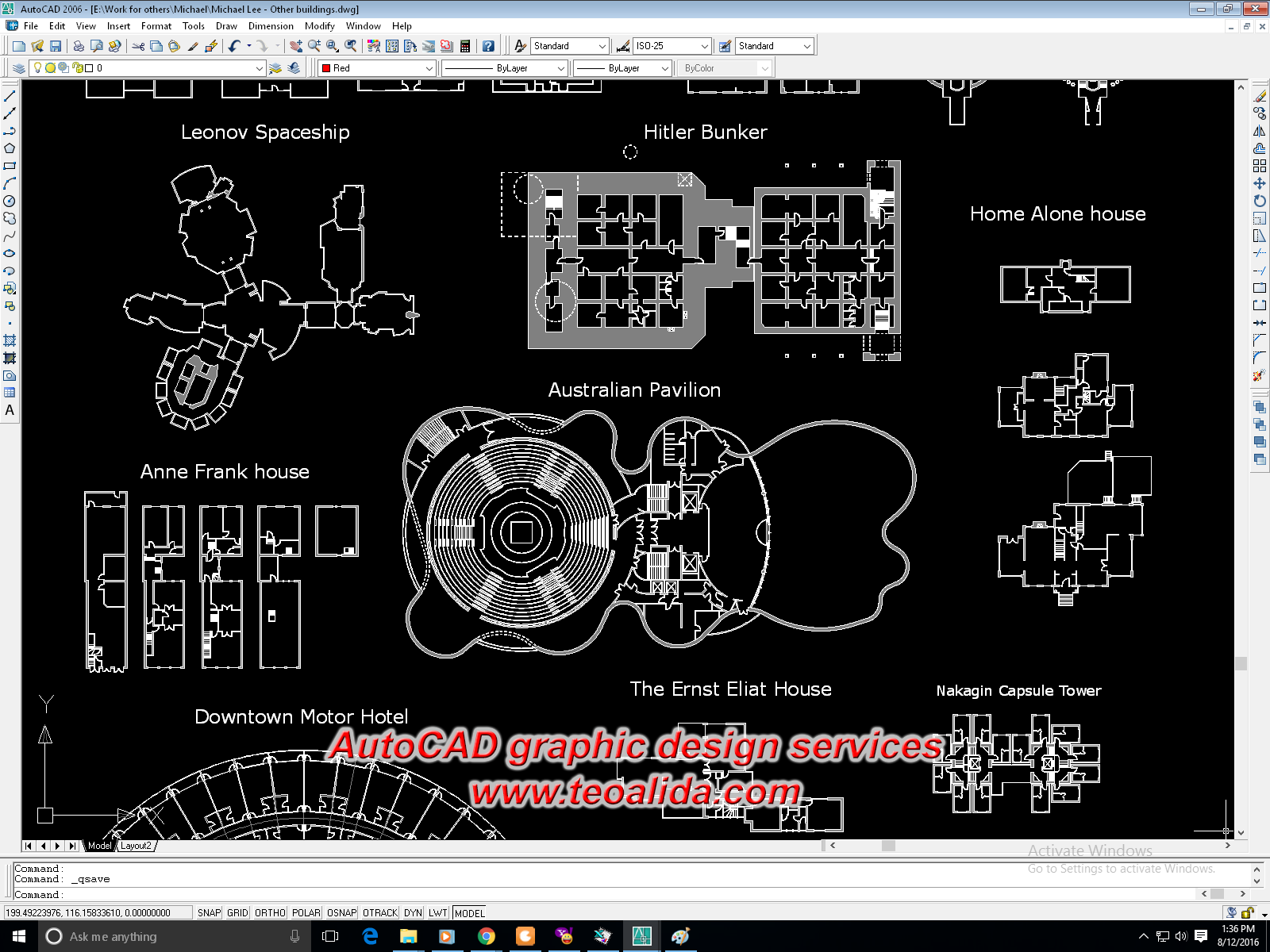 Desen grafic in AutoCAD