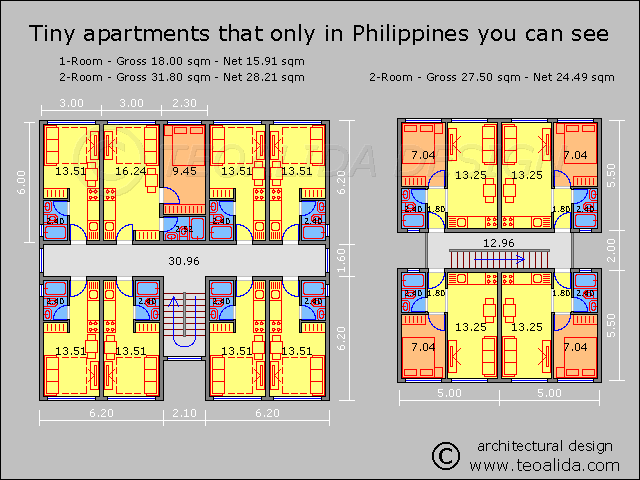 Philippines tiny apartments