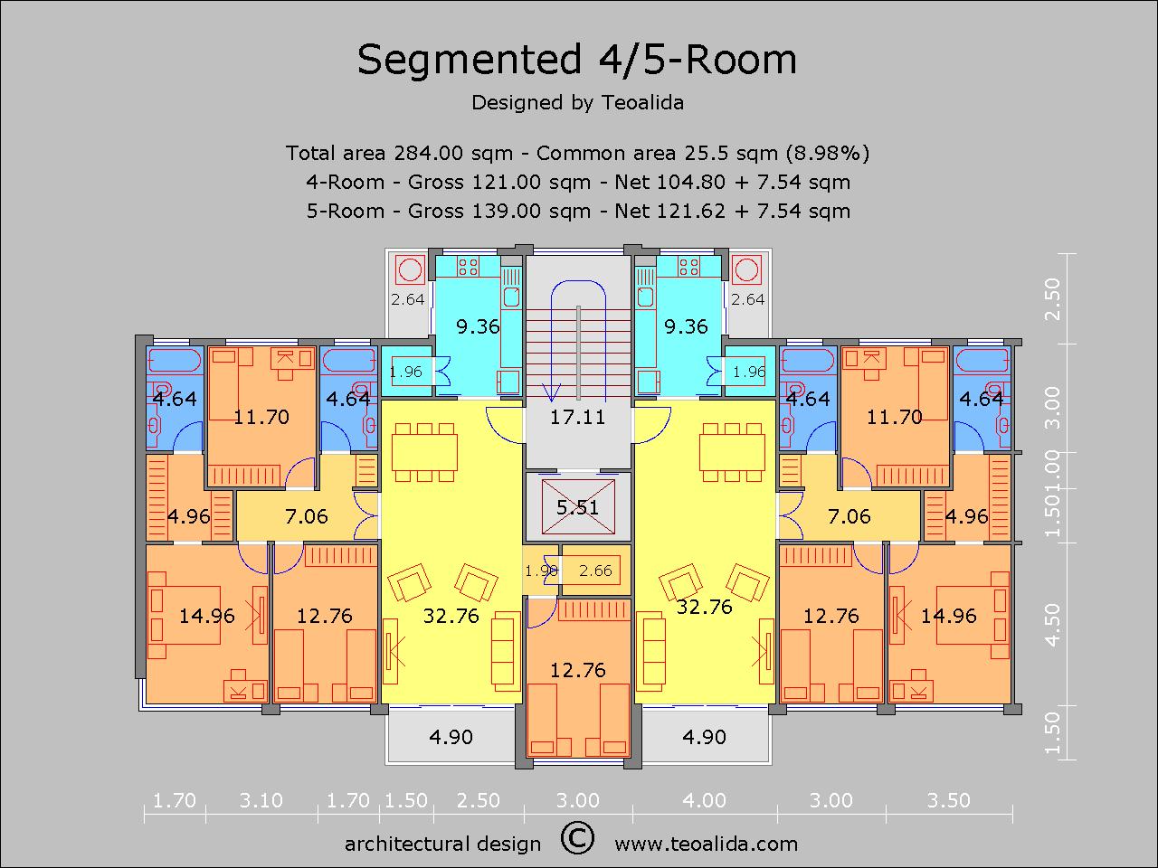 Segmented 24m