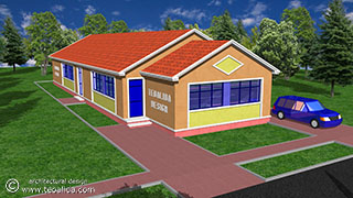 Semi-Detached-Shotgun-House-front-th Narrow House Plans With Front Garage on narrow lot garage apartments, narrow lot house plans over garage, homes with rear garage, skinny house plans front garage, ranch house plans with side entry garage, narrow lot house plans with three car garage, bungalow house plans with garage, farmhouse with front garage, narrow house plans with side entry garage, small narrow house plans with garage, narrow townhouse plans, narrow house plans with detached garage, on narrow lot garage, two-story house plans front garage, house plans with 3 car garage,