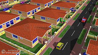 Rumah berkembar 2-3-4 bilik tidur