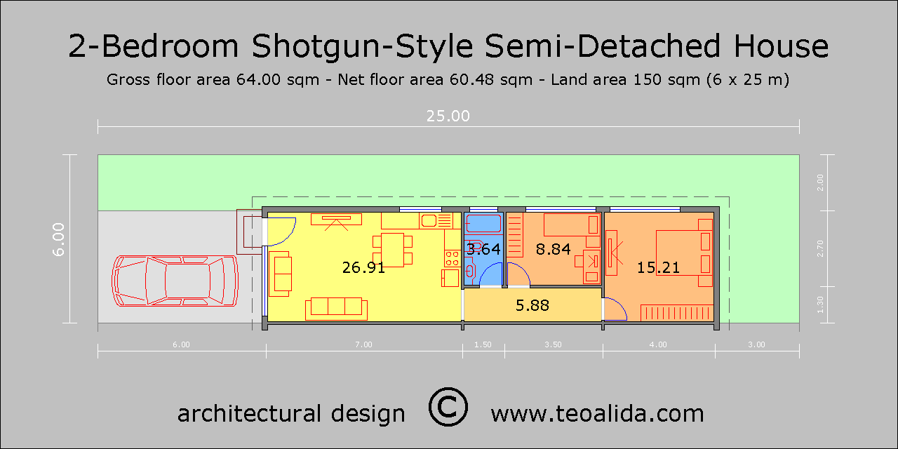 House floor plans 50-400 sqm designed by Teoalida | Teoalida ... on