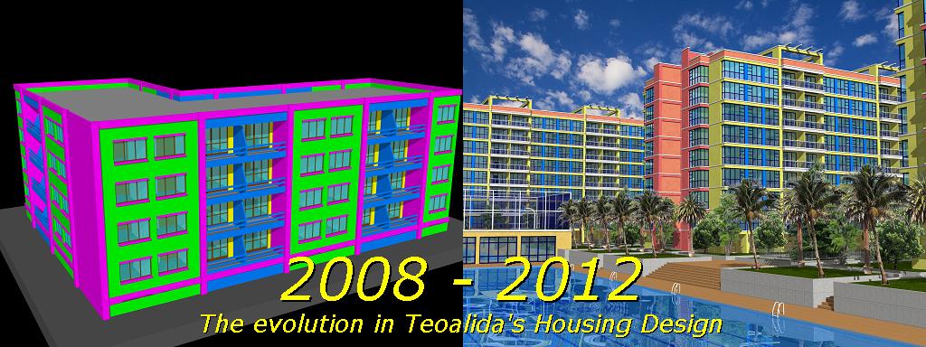Teoalida Housing Design 2008-2012