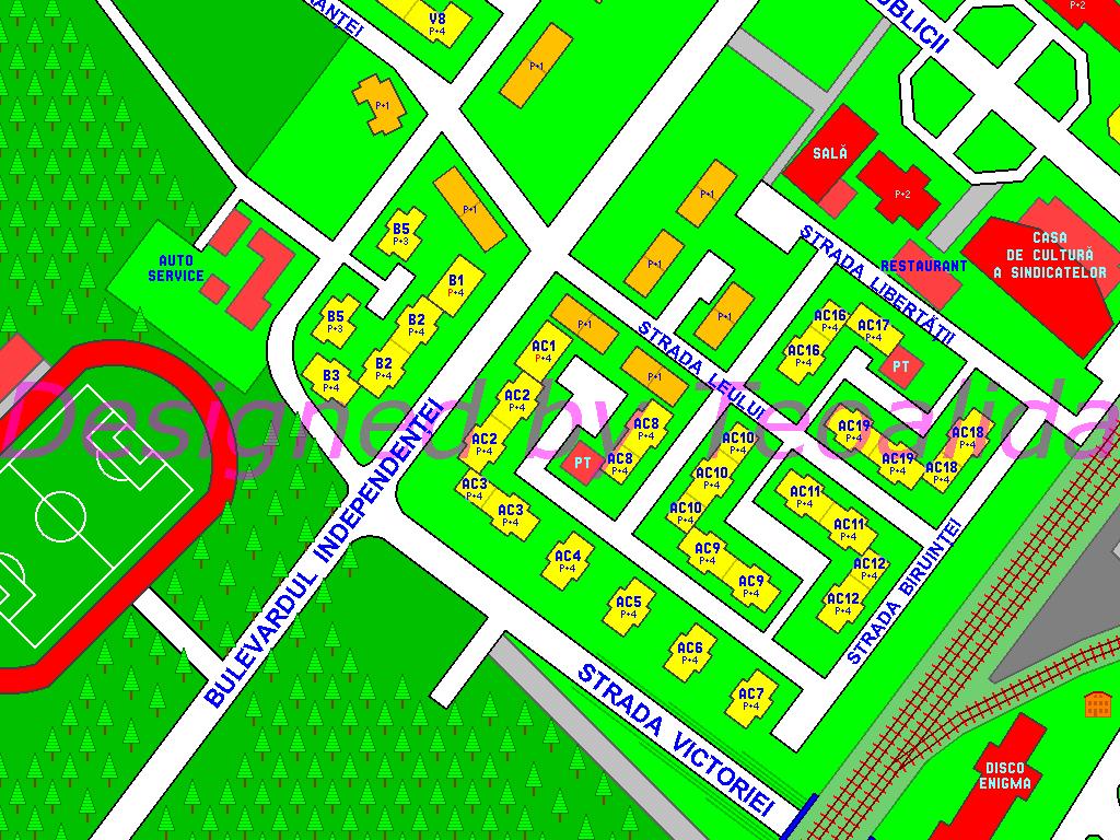 Harta cu blocuri