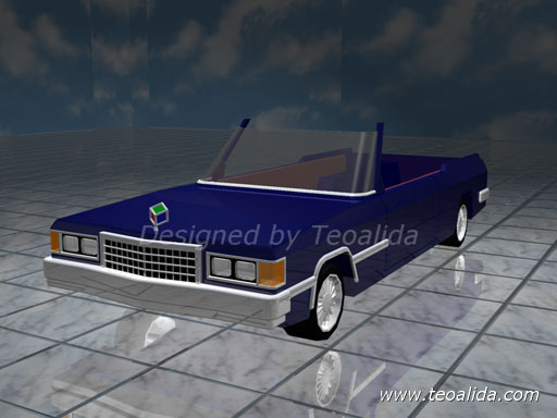 AutoCAD 3D car design 2007