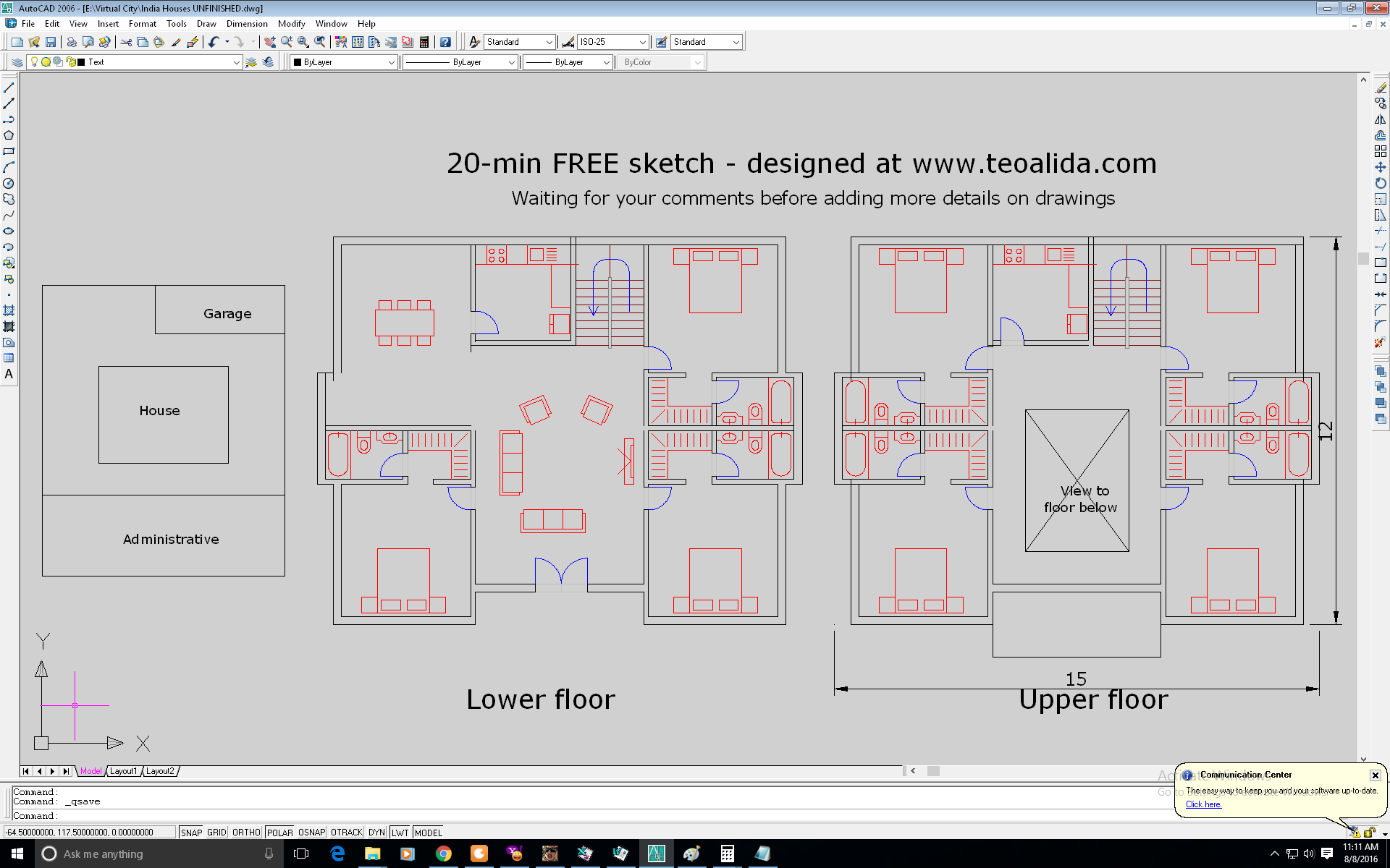 Architectural design services - procedure and prices | Teoalida Website