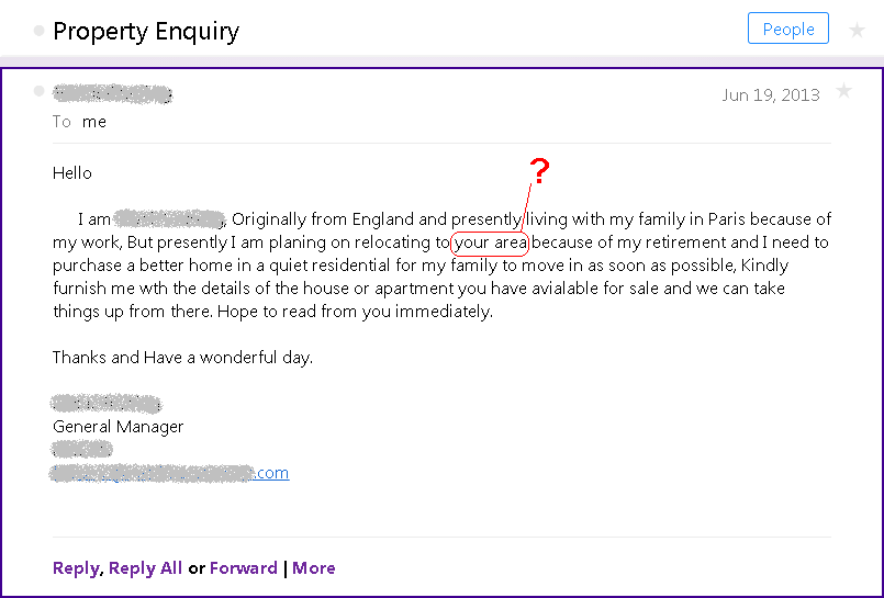 Property Enquiry