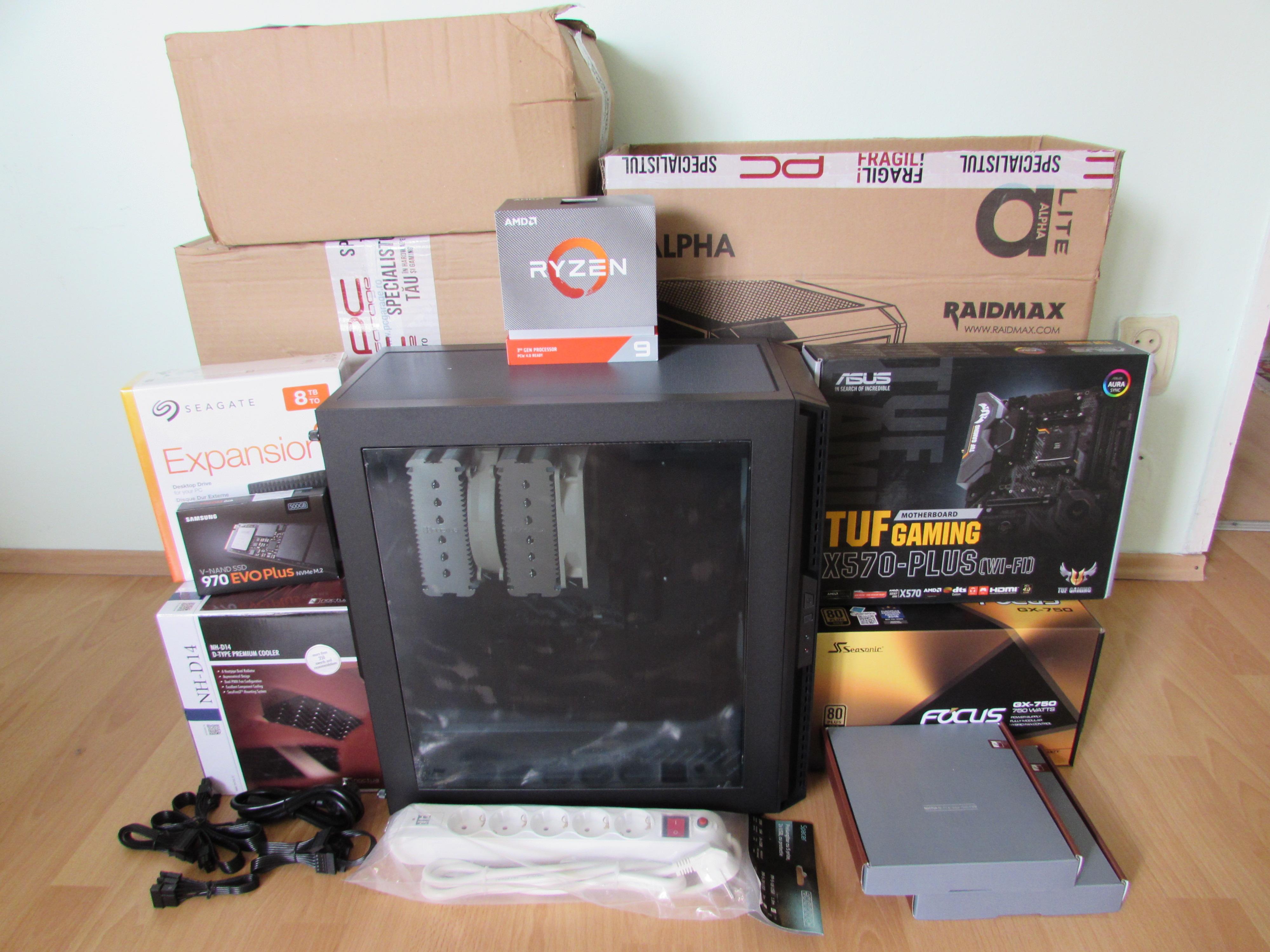 Ryzen 9 computer