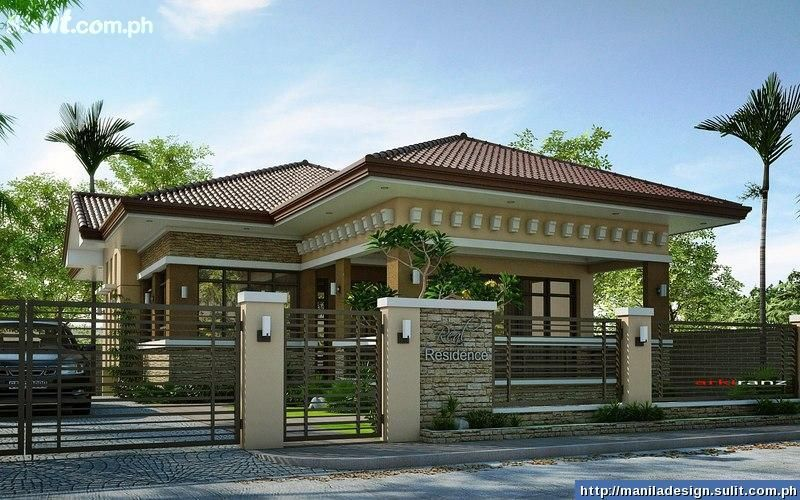 Single House Front Elevation Models : Most beautiful house contest philippines series