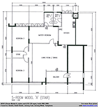 5A flat (133 sqm)