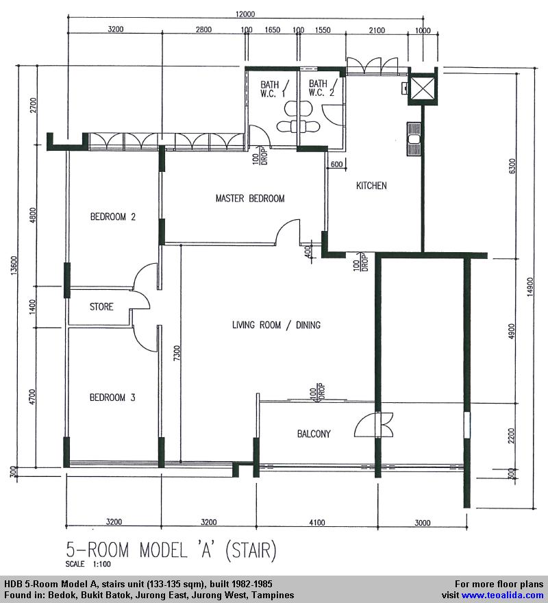 Hdb flat types 3std 3ng 4s 4a 5i ea em mg etc teoalida website - Executive house plans model ...