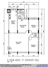 4A flat (104 sqm)