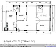 4A flat(108 sqm)