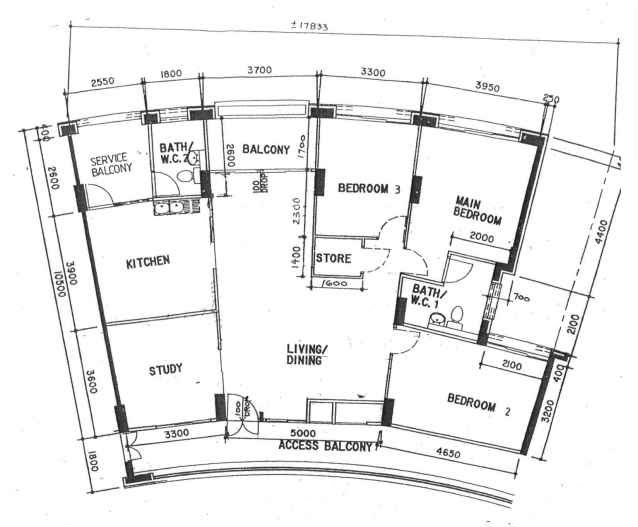 Executive Apartment from Pasir Ris Street 13 (146 sqm)