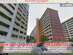 Prefab block vs non-prefab block