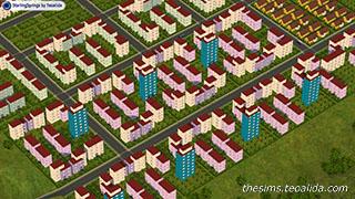 Oraşe în The Sims 2
