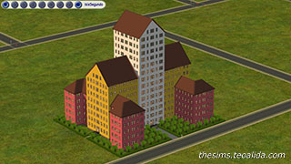 Biggest building in The Sims 2