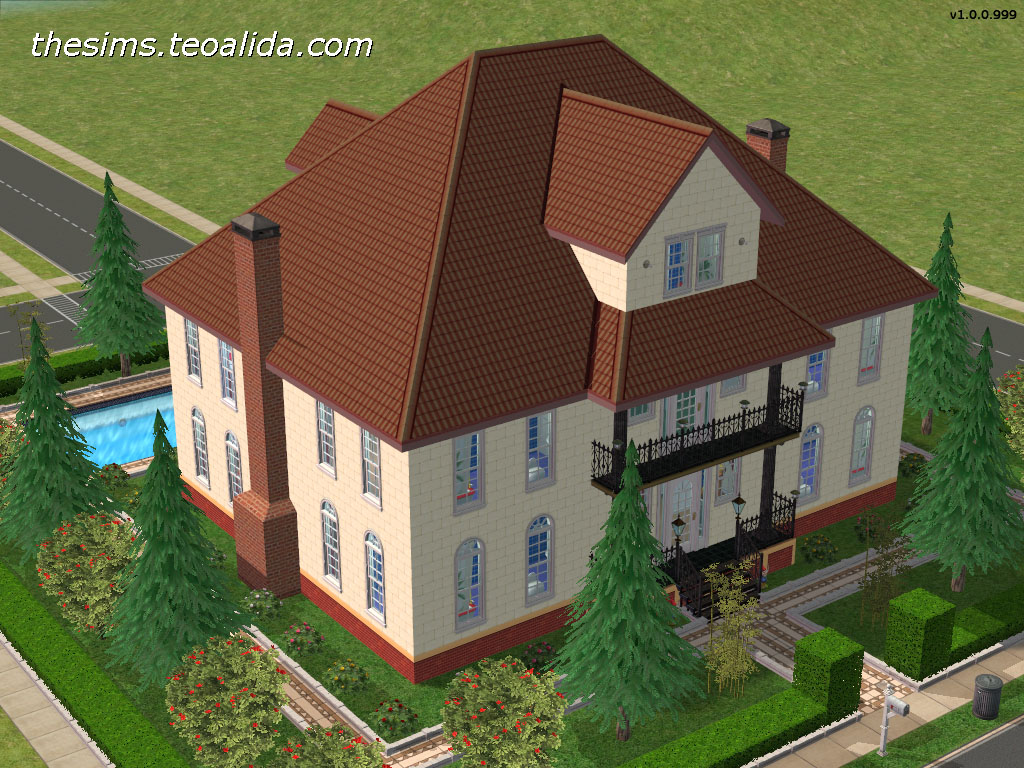 The Sims House Downloads Home Ideas And Floor Plans Part 7