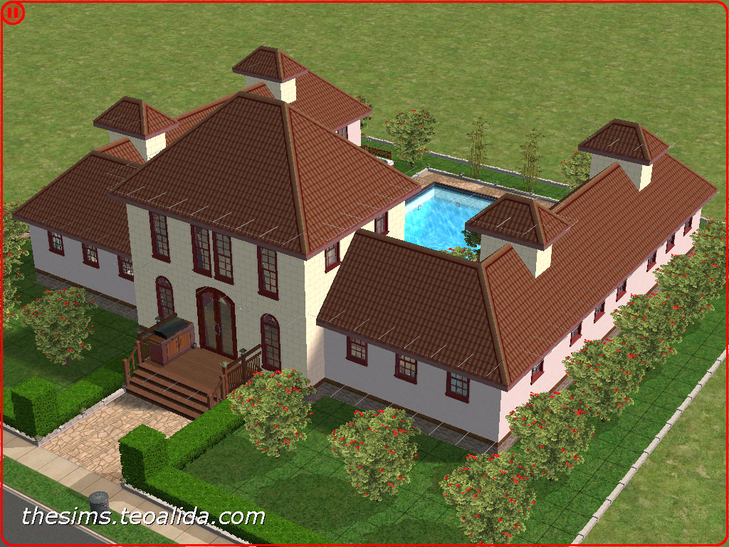 Sims 2 House Ideas Designs Layouts Plans Images Galleries With A Bite