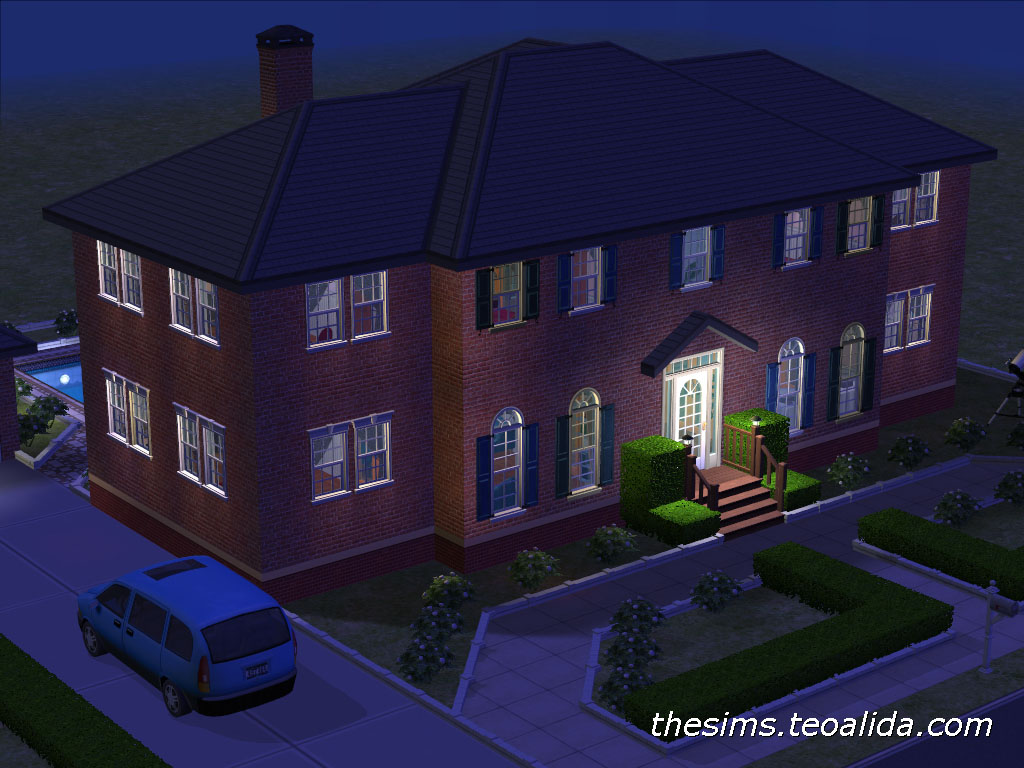 Quot Home Alone Quot Movie House The Sims 2 Version The Sims