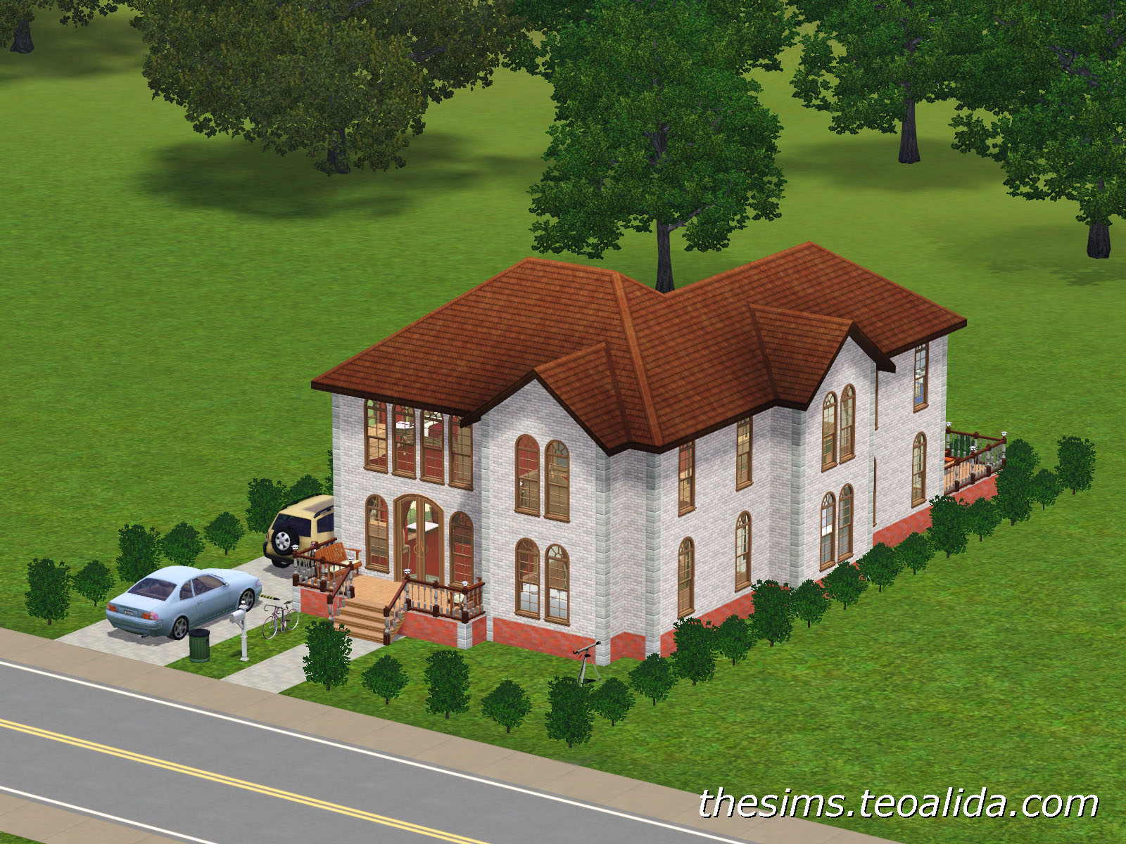The sims house downloads home ideas and floor plans for L shaped homes