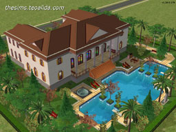The Sims 2 house design