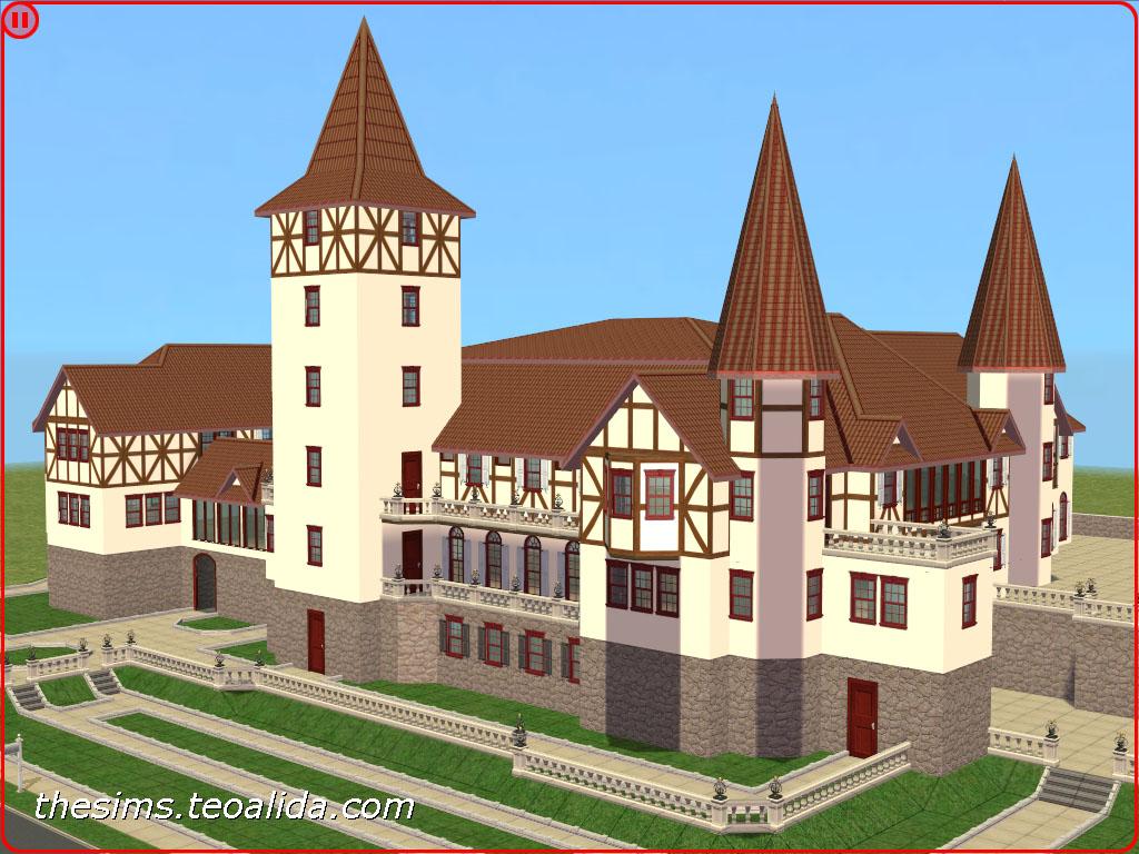 The Sims 3 Castle Floor Plans