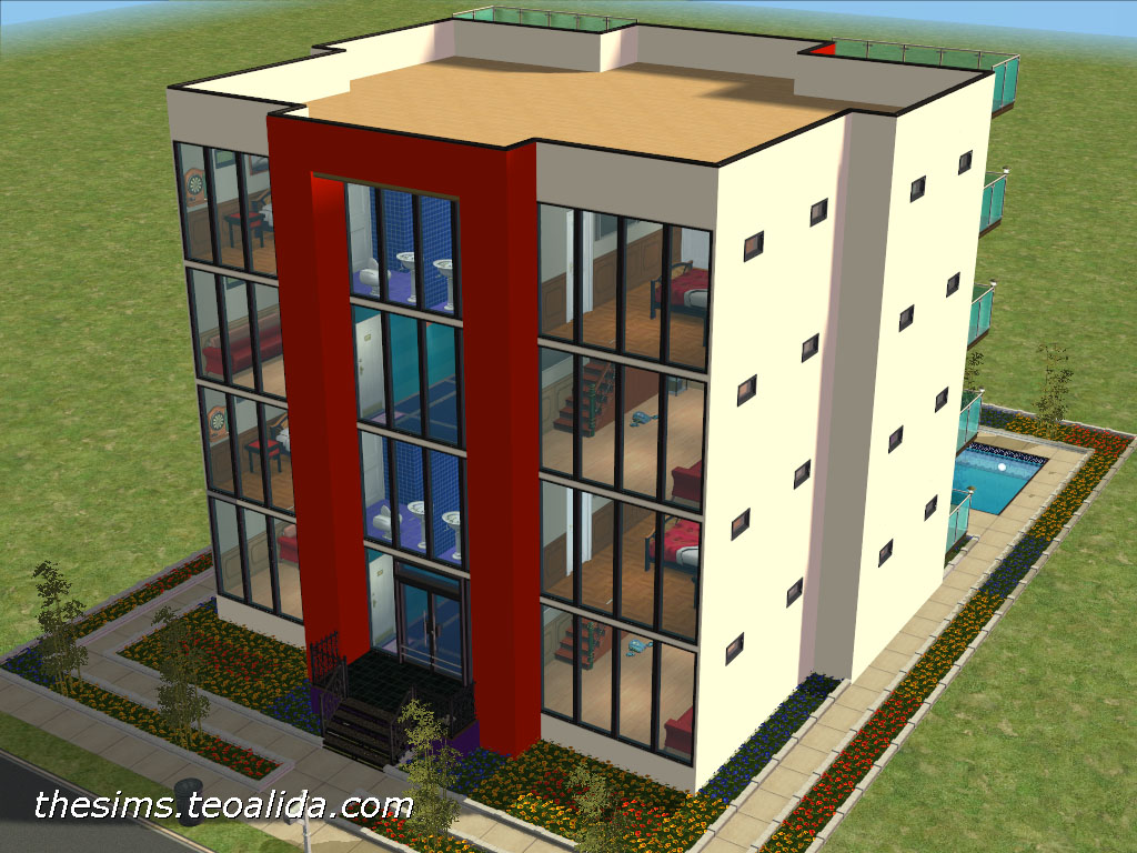 Teoalida S Second Apartment Block