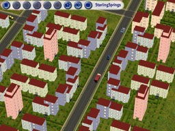The Sims 2 planned cities
