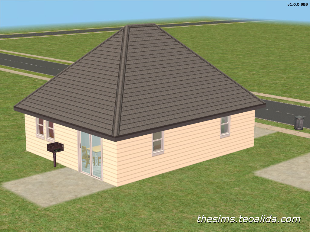 House Price: $19.985 Furnished, $6.971 Unfurnished. House Size: 8×10. Floor  Area: 80 Squares. Expansions Required: None, Base Game Only.
