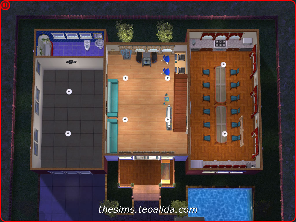 Boolprop Floor Elevation Cheat : Symmetrical palace style house on lot the sims fan page