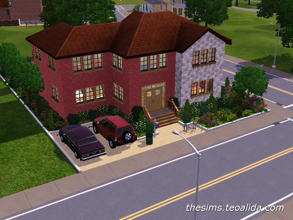 My First The Sims 3 House The Sims Fan Page