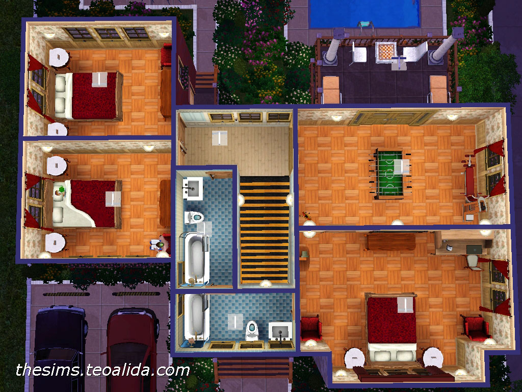 Floor Elevation Cheat Sims 3 : The sims house downloads home ideas and floor plans part