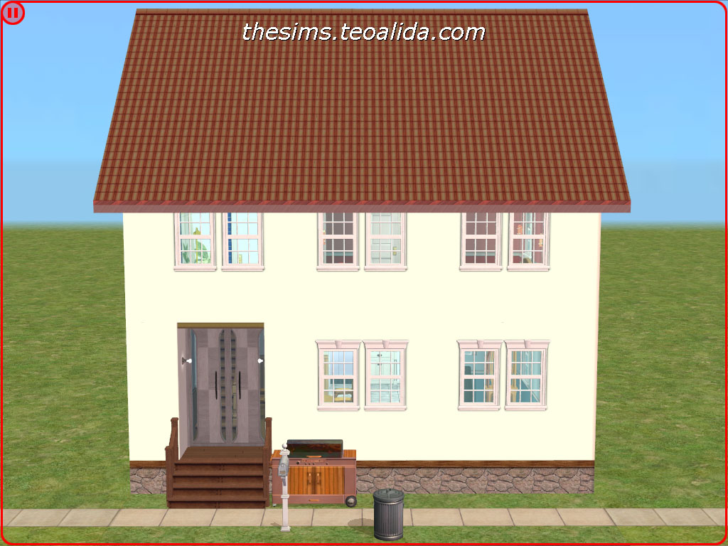 Tremendous Terraced House On A Tiny 1X1 Lot The Sims Fan Page Download Free Architecture Designs Viewormadebymaigaardcom