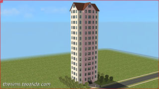 The Sims Skyscraper