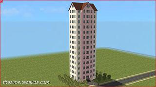 The Sims Skyscraper