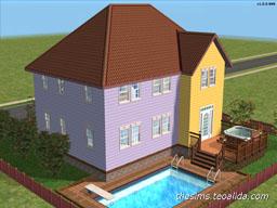 Asymmetrical House