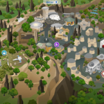 The Sims 4 worlds